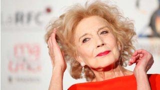 Marisa Paredes ha recuperado un look vintage en los Premios Unión de Actores