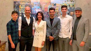 Galería: conoce a todos los hijos de Zidane / Instagram (@enzo) / Gtres