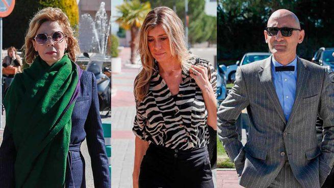 Begoña Gómez encabeza la despedida a Cuca Solana