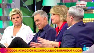 Terelu Campos, Kiko Hernández, Mila Ximénez y Jorge Javier / Telecinco