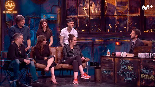 Ana Milán, Andrea Duro, Adrián Rodríguez y Lucía Ramos