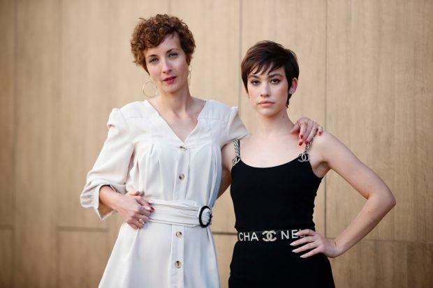 Irene Anula y Greta Fernández,