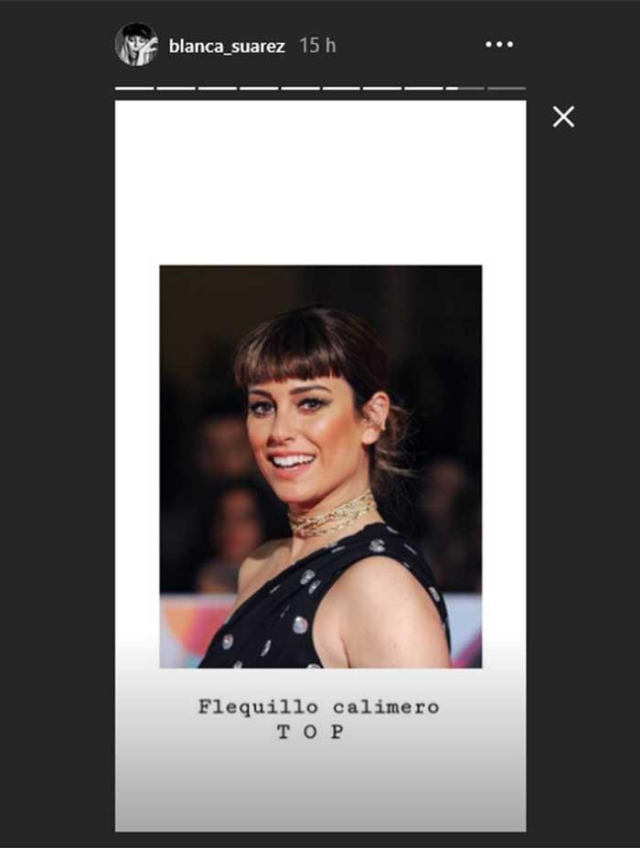 Blanca Suárez Instagram