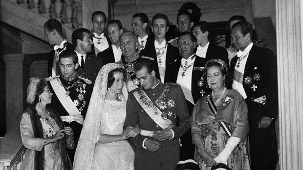 Boda del Rey Juan Carlos y la Reina Sofía