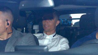 Cristiano Ronaldo, entrando al lugar donde se ha celebrado la apertura de su nuevo negocio / Gtres