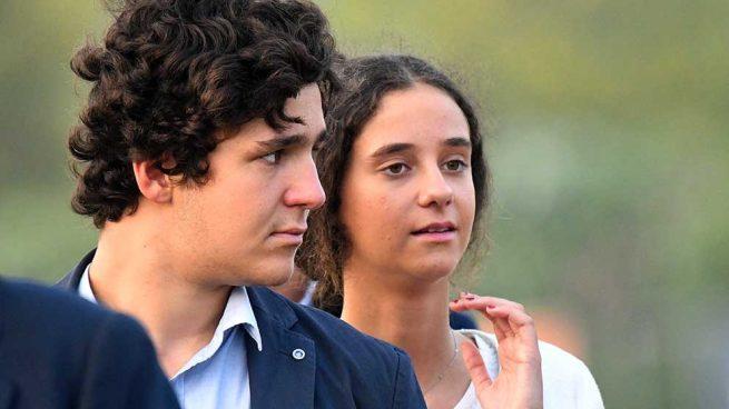 Froilán y Victoria Federica de Marichalar