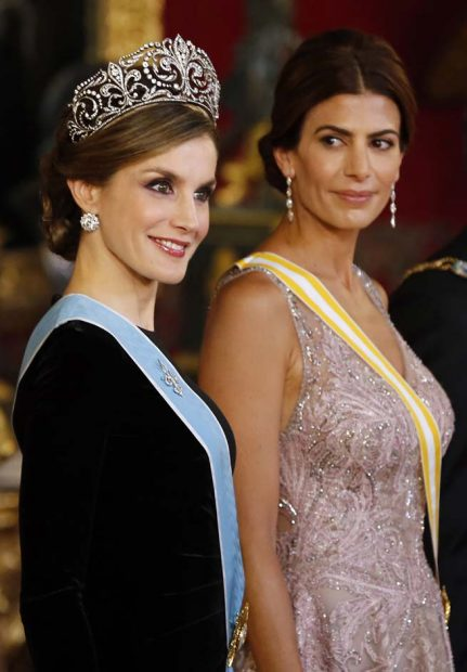 Reina Letizia, Juliana Awada
