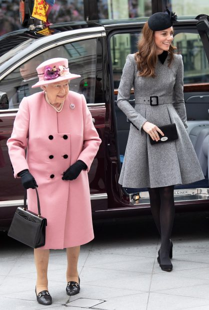 Kate Middleton, reina Isabel