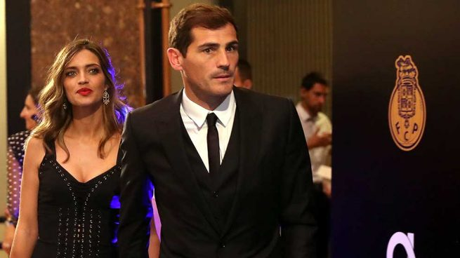 Iker Casillas y Sara Carbonero,