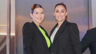 Vicky Martín Berrocal y su hija, Alba Díaz, en la fiesta de Cristiano Ronaldo / Gtres