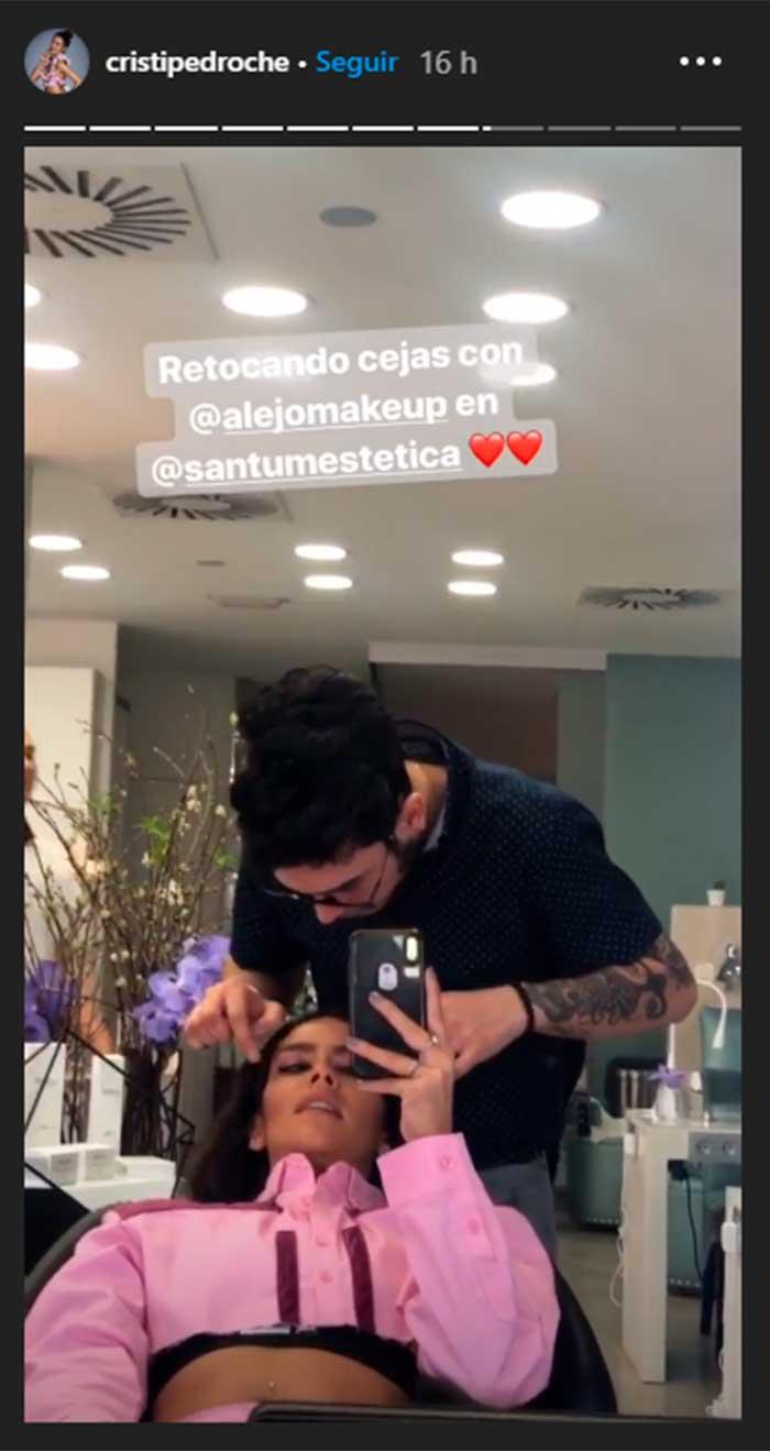 Cristina Pedroche depilación facial