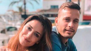 Sergio Canales y su mujer, Cristina Llorens / Instagram