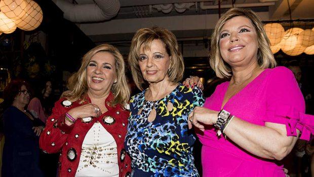 Carmen Borrego, María Teresa Campos y Terelu Campos