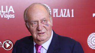 No te pierdas las imágenes del rey Juan Carlos que han conmocionado por su ojo morado / Gtres.