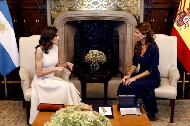La Reina y la Primera Dama