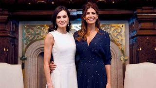 La Reina gana a la Primera Dama argentina con un guiño a la infanta Elena / Gtres