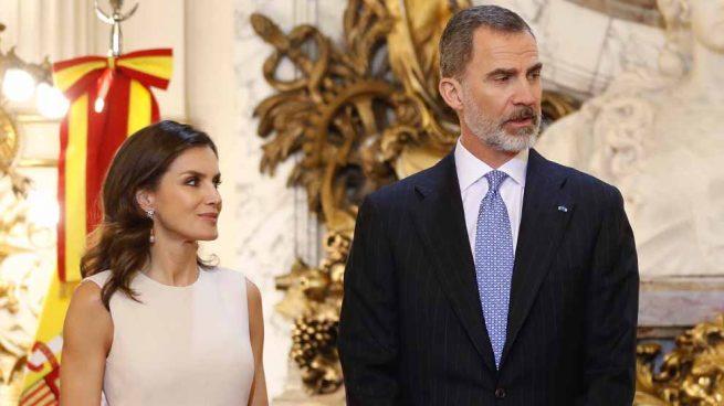 Reyes Felipe y doña Letizia