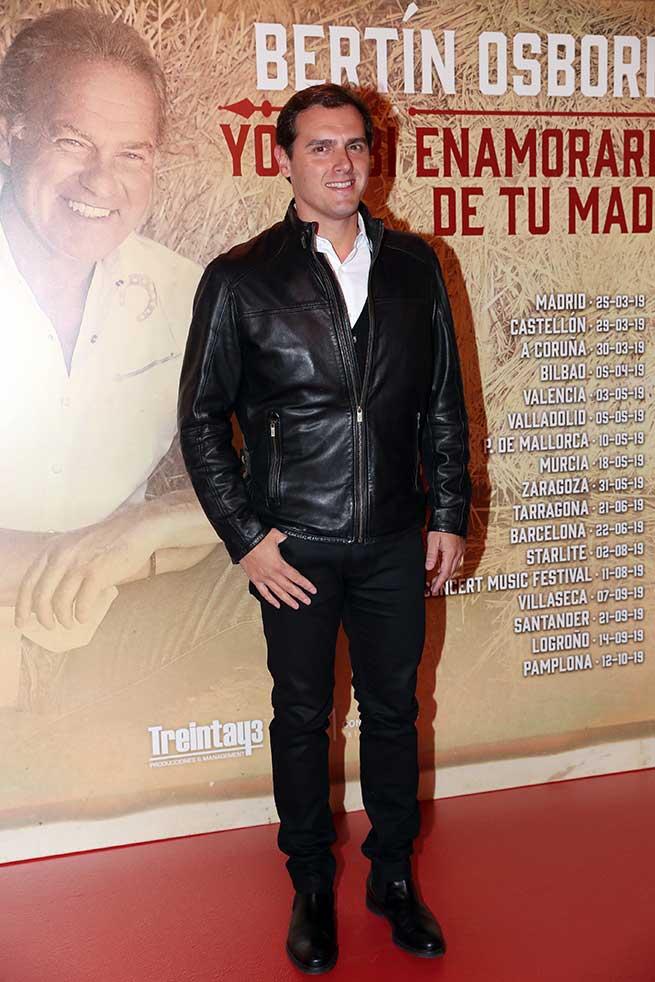 Albert Rivera confirma su idilio con la música nacional