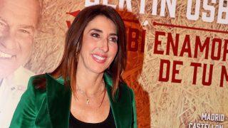 Paz Padilla durante un concierto de Bertín Osborne en Madrid / Gtres