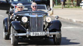 El príncipe Carlos y Camilla Parker en La Habana / Gtres