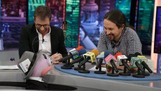 Pablo Iglesias en «El Hormiguero»./Atresmedia