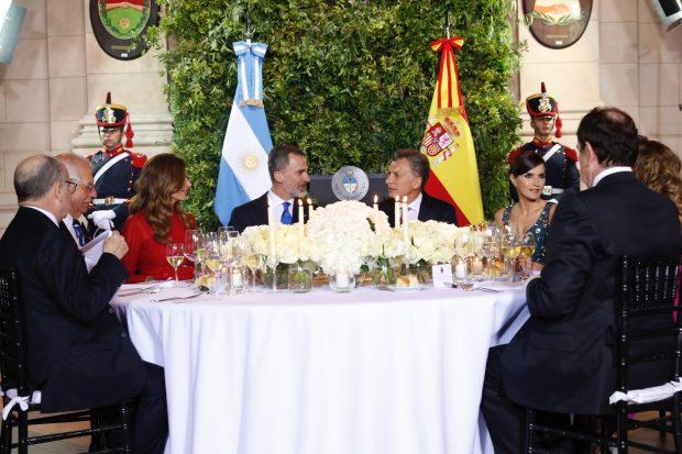 Don Felipe y doña Letizia