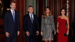 Los Reyes y los Macri en el Four Seasons de Buenos Aires / Gtres