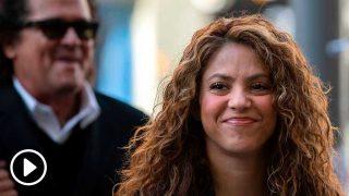 Shakira y Carlos Vives, llegando a los juzgados de Gran Vía / Gtres