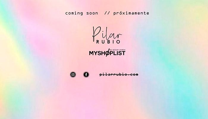 Pilar Rubio tienda online