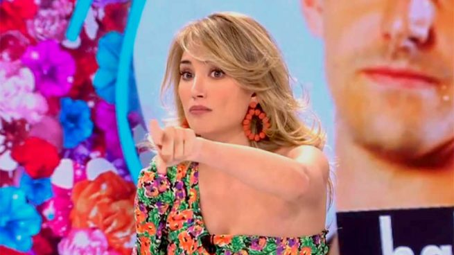 El ataque definitivo de Alba Carrillo a Courtois: «Tienes la bragueta muy suelta, vigila tu pito»