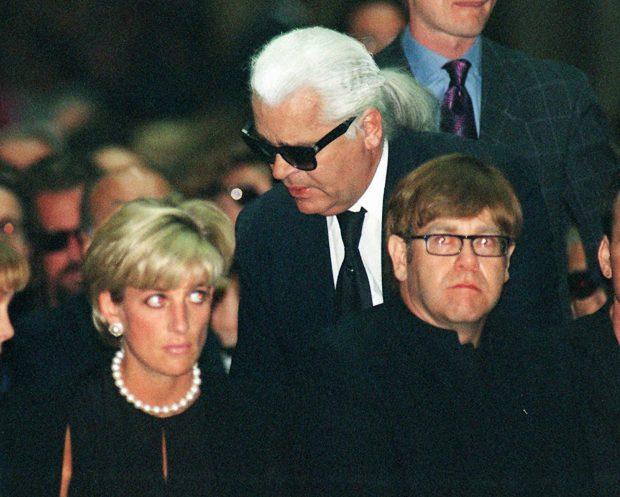 Elton John y Diana de Gales