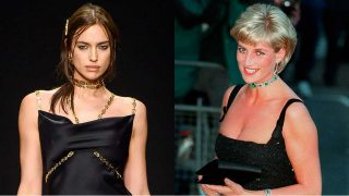 Irina Shayk se ha convertido en imagen del bolso D Styling, la vuelta de hoja del D Bag, uno de los favoritos de Diana de Gales / Gtres