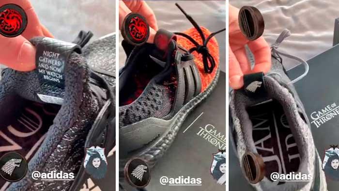 Messi Zapatillas Juego de Tronos