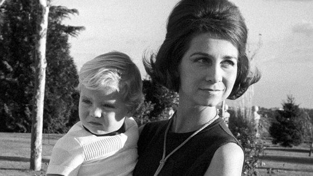 reina Sofía y el rey Felipe VI,