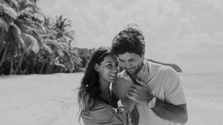 Fernando Verdasco y Ana Boyer han sido padres esta misma semana /Instagram