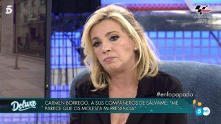Carmen Borrego, en 'Sábado Deluxe' / Telecinco.