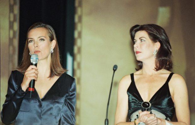 Carolina de Mónaco y Carole Bouquet