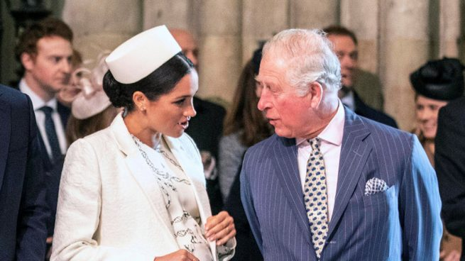 El día que el príncipe Carlos se enfrentó a Meghan Markle
