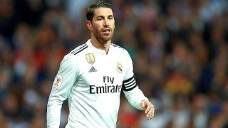 Sergio Ramos, durante un partido con el Real Madrid / Gtres