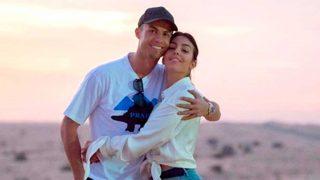 Cristiano Ronaldo y Georgina, en una foto de su Instagram / @cristiano