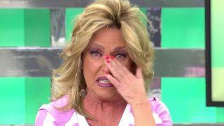 Lydia Lozano ha roto a llorar /Mediaset