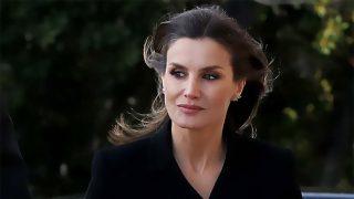 El luto de la reina Letizia un año después del 'rifirrafe' con doña Sofía / Gtres
