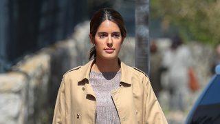 Sofía Palazuelo se suma a la tendencia del pantalón 'paper bag' / Gtres