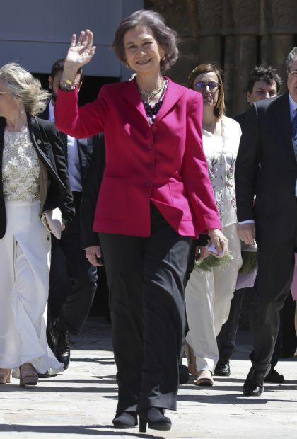 La reina doña Sofía inauguró la muestra el pasado año / Gtres
