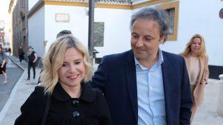 Eugneia Martínez de Irujo y Narcís Rebollo en una imagen de archivo / Gtres