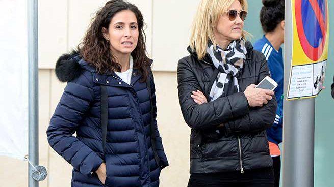Xisca Perelló y la madre de Rafa Nadal