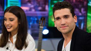Jaime Lorente y María Pedraza en 'El Hormiguero' /Antena3