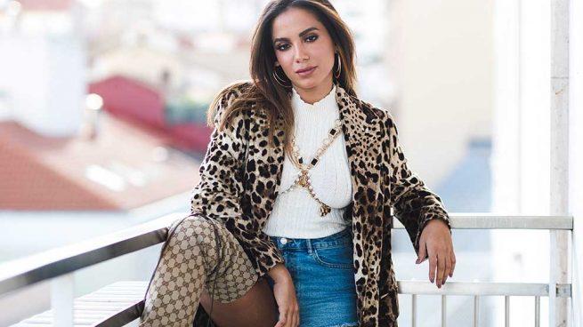 Look de la cantante Anita en España