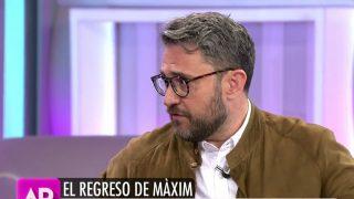 Màxim Huerta en 'El programa de Ana Rosa' /Mediaset