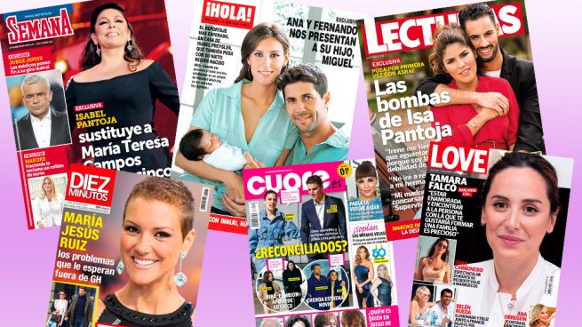 revistas, quiosco, portadas
